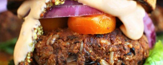 Burger de pois chiches à la thaï